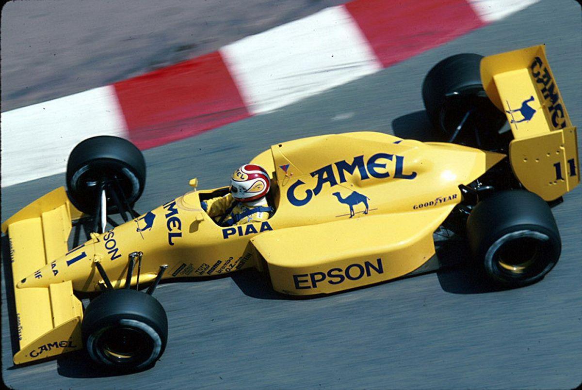 1989 GP Monaco (Nelson Piquet) Lotus 101 Judd