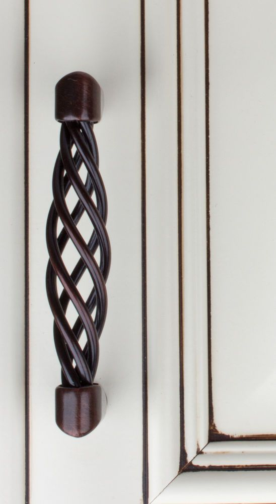 3011 Orb 3 4 Cc Birdcage Hd Cabinet Hardware Pull Handle Oil Rubbed Bronze
