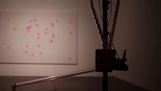 CROWDRAW by everyware.kr.    Create Graffiti In A Real Gallery By Virtually 'Painting' With A Smartphone