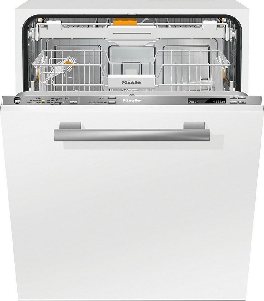 Miele vollintegrierbarer Geschirrspüler, G6770SCVI, 9,7 l
