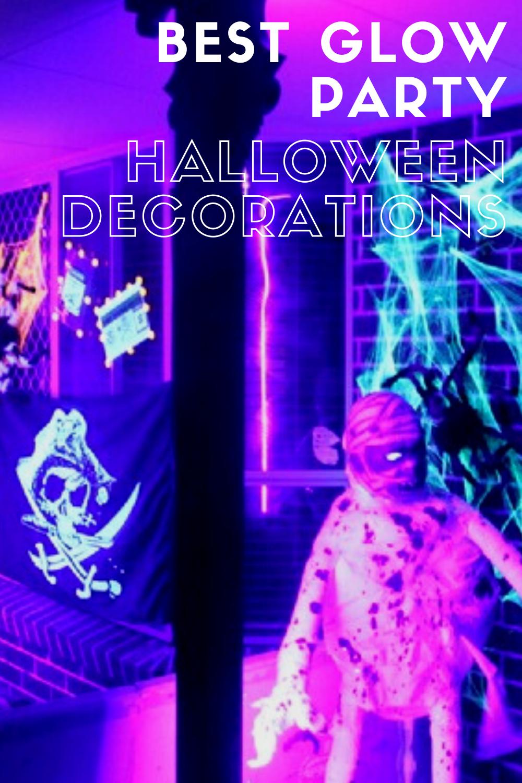 24+ Glow in the dark halloween decorations ideas in 2021