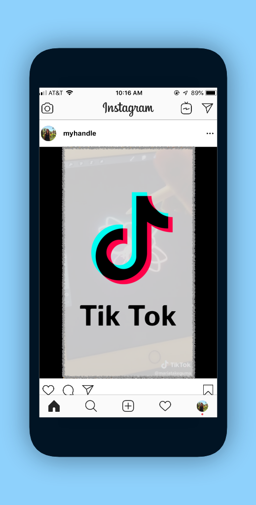 How To Post A Tiktok On Instagram Instagram Tutorial Post