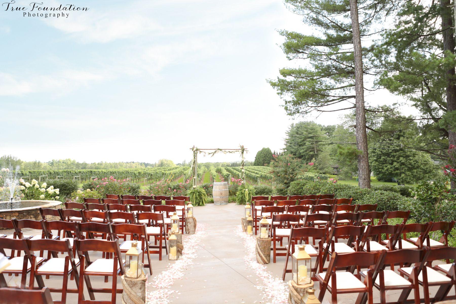 Burntshirt Vineyards Wedding Hendersonville, NC Wedding