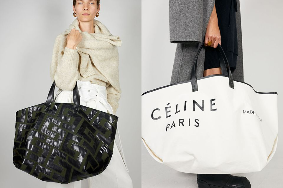 What S That Signature Bag More Celine Fall 2018 Preview Here