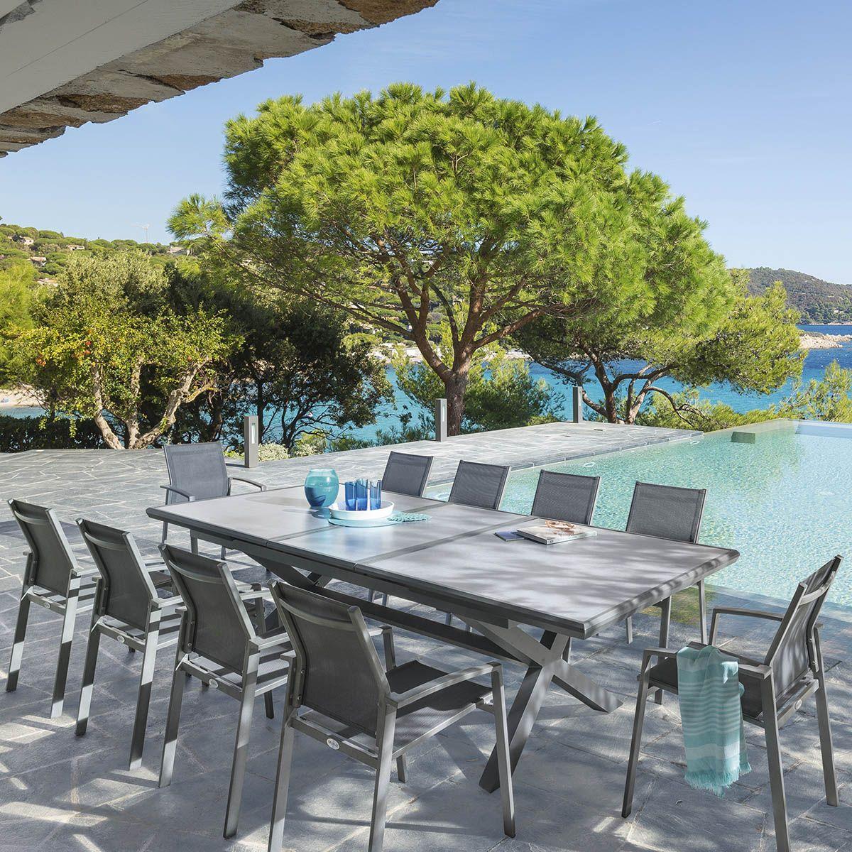 Invitez vos amis en toute sérénité avec la table de jardin ...