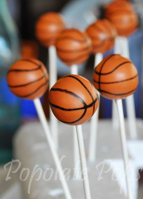 basketball cake pops basketball cake pops decor and ideas 1513