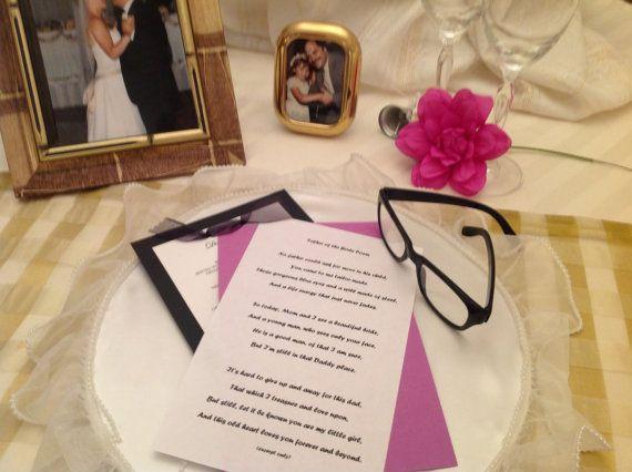 Father Of The Bride SpeechWedding Speeches Wedding Poems Daughter