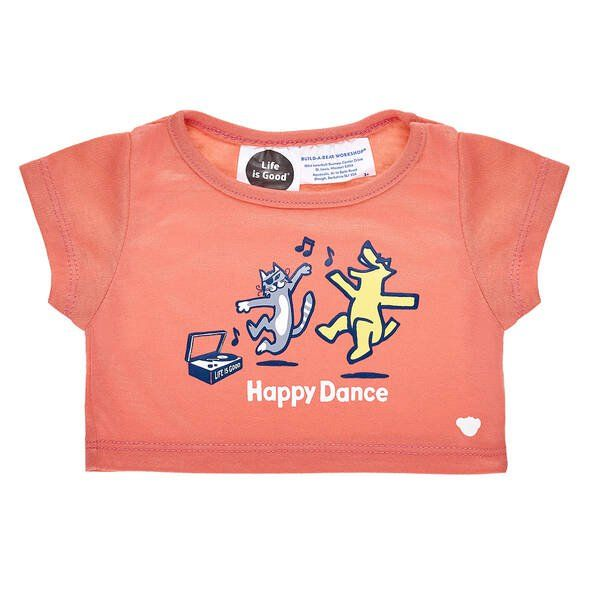 Life is Good Happy Dance T-Shirt