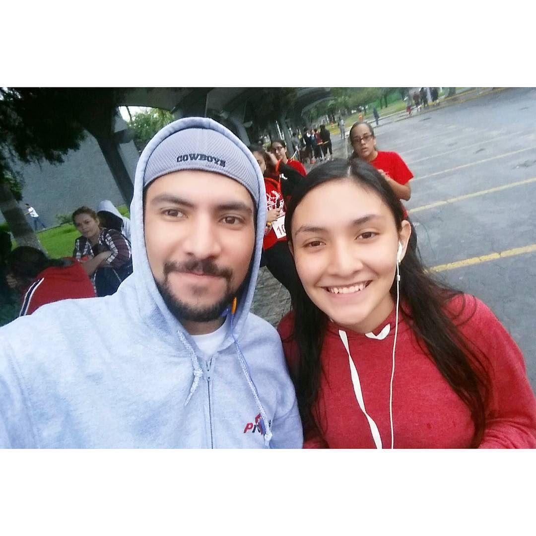 Hoy volví a correr ahora con mi hermana en el #TrotePielRoja