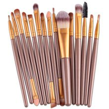 SuperDeals 31% off http://s.click.aliexpress.com/e/M3nQ7EU  New Professional 15 PCS Makeup Brushes Set Tools Make-up Toiletry Kit Make Up Brush Set Case Cosmetic Foundation Brush