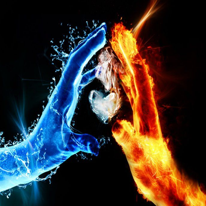 Agua Y Fuego Water Fire Fire And Ice Types Of Dragons Pictures