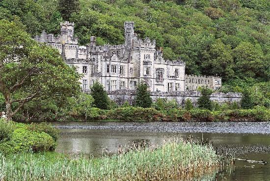 Irlande : Abadia de Kylemore, Condado de Galway