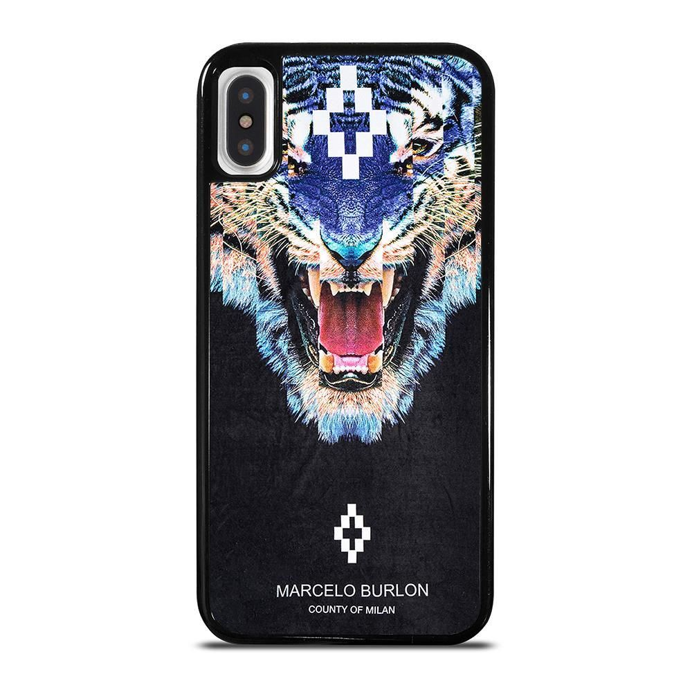 MARCELO BURLON TIGER iPhone X / XS Case Cover