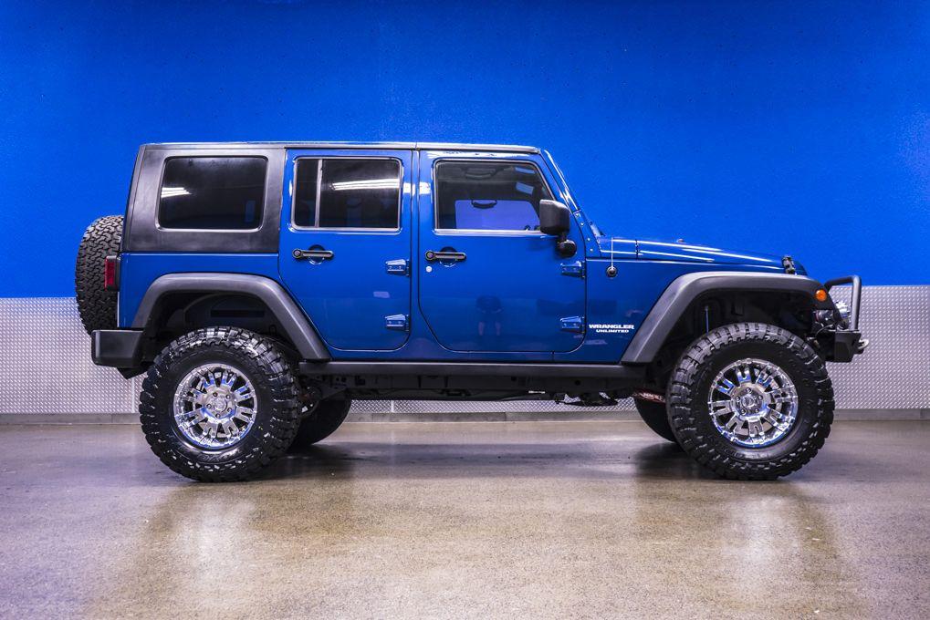 Buy used 2009 Jeep Wrangler Unlimited Rubicon 4x4 Auto