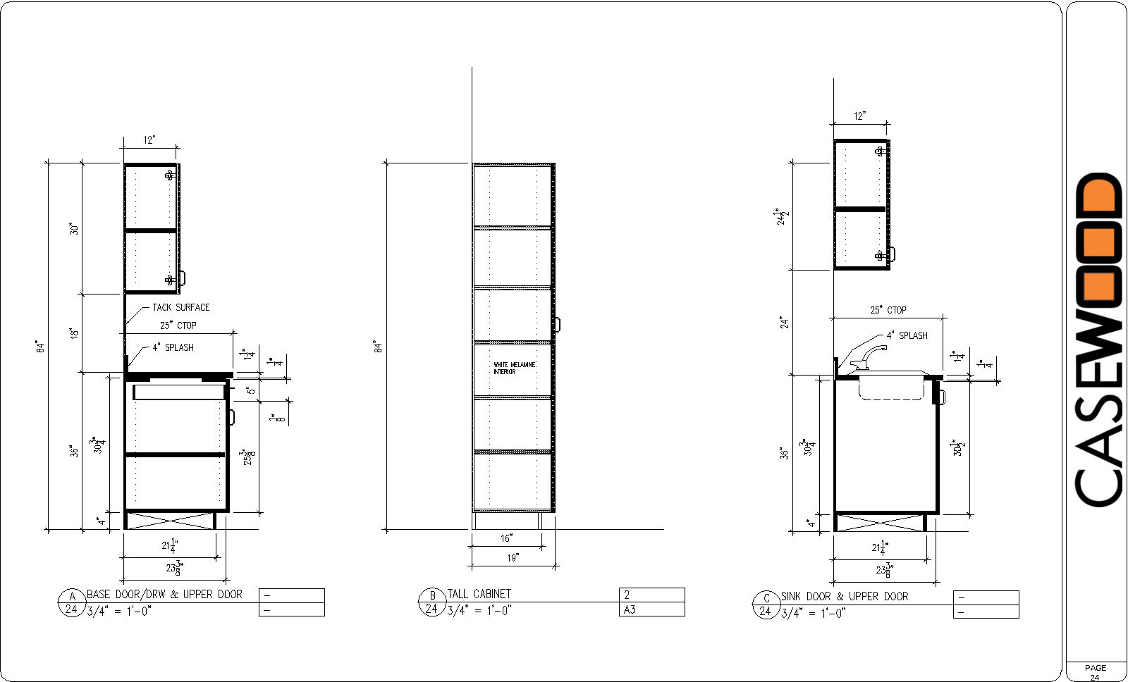 Pin On Millwork Drawings