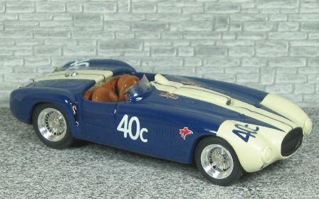 Ferrari 375 MM Spyder Pininfarina Torrey Pines 1955 #40c - Alfa Model 43