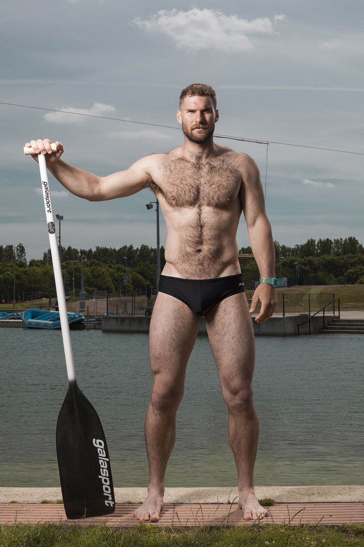 "famousmaleexposed: "" British former canoeing Matthew James"