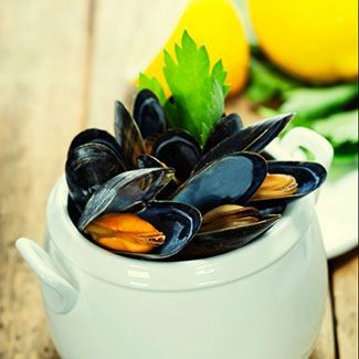 Steamed Mussels Mariniere