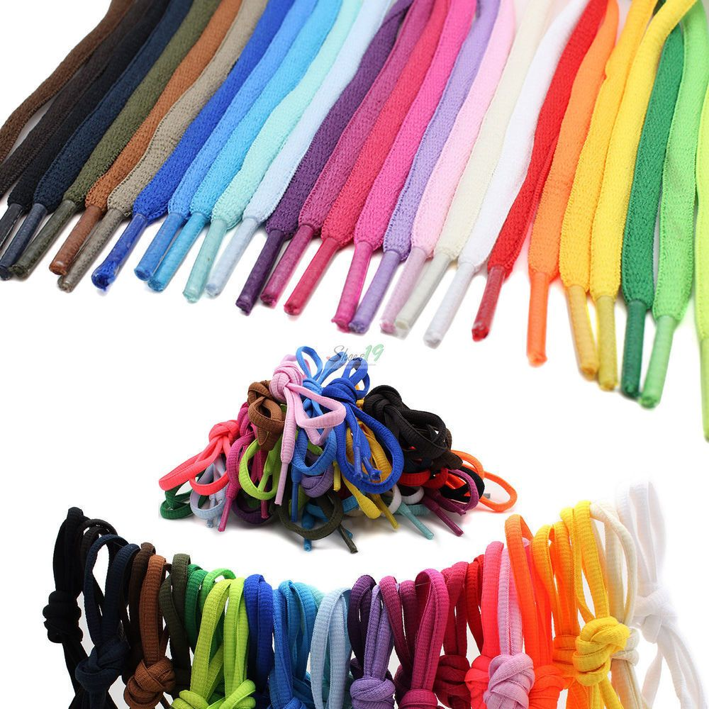 "36/"" 45 /"" 54/"" 27 inch shoelace round run shoe lace sneaker string ROYAL BLUE"
