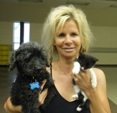 Pilates for Paws instructor, Diane Cantin