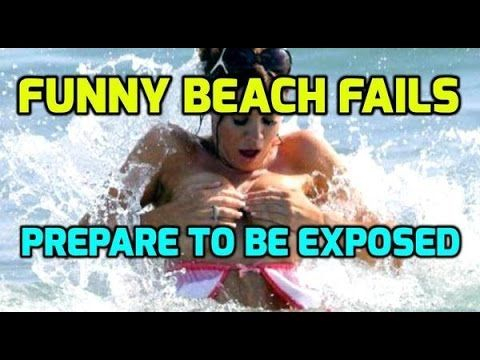 Funniest Beach Fails Time To Be Exposed Beach Humor Epic Fails Funny Epic Fail Pictures