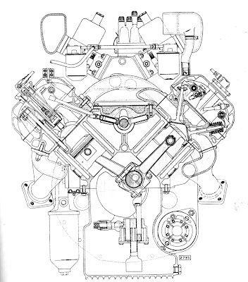 v8 engine blueprints - photo #46