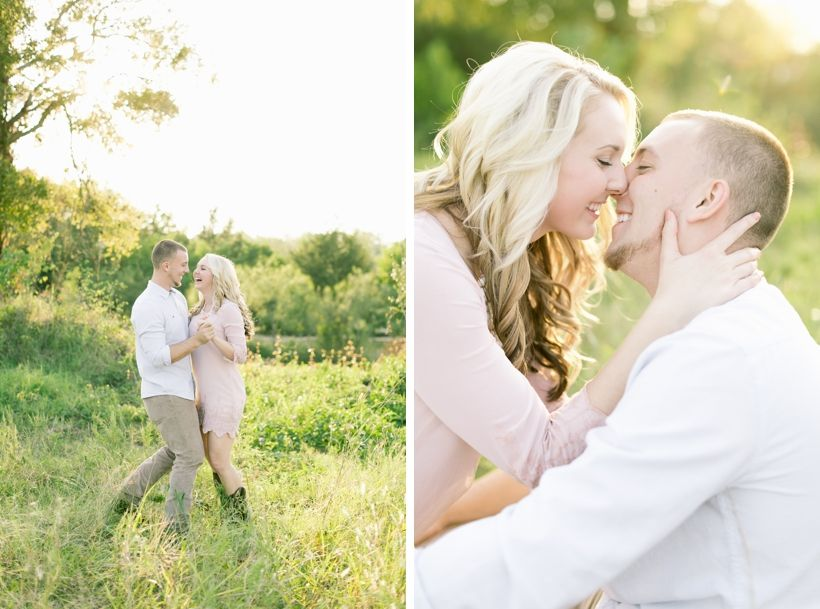 Country Engagement Photos | The Woodlands Wedding Photographer | Logan Howard Photography