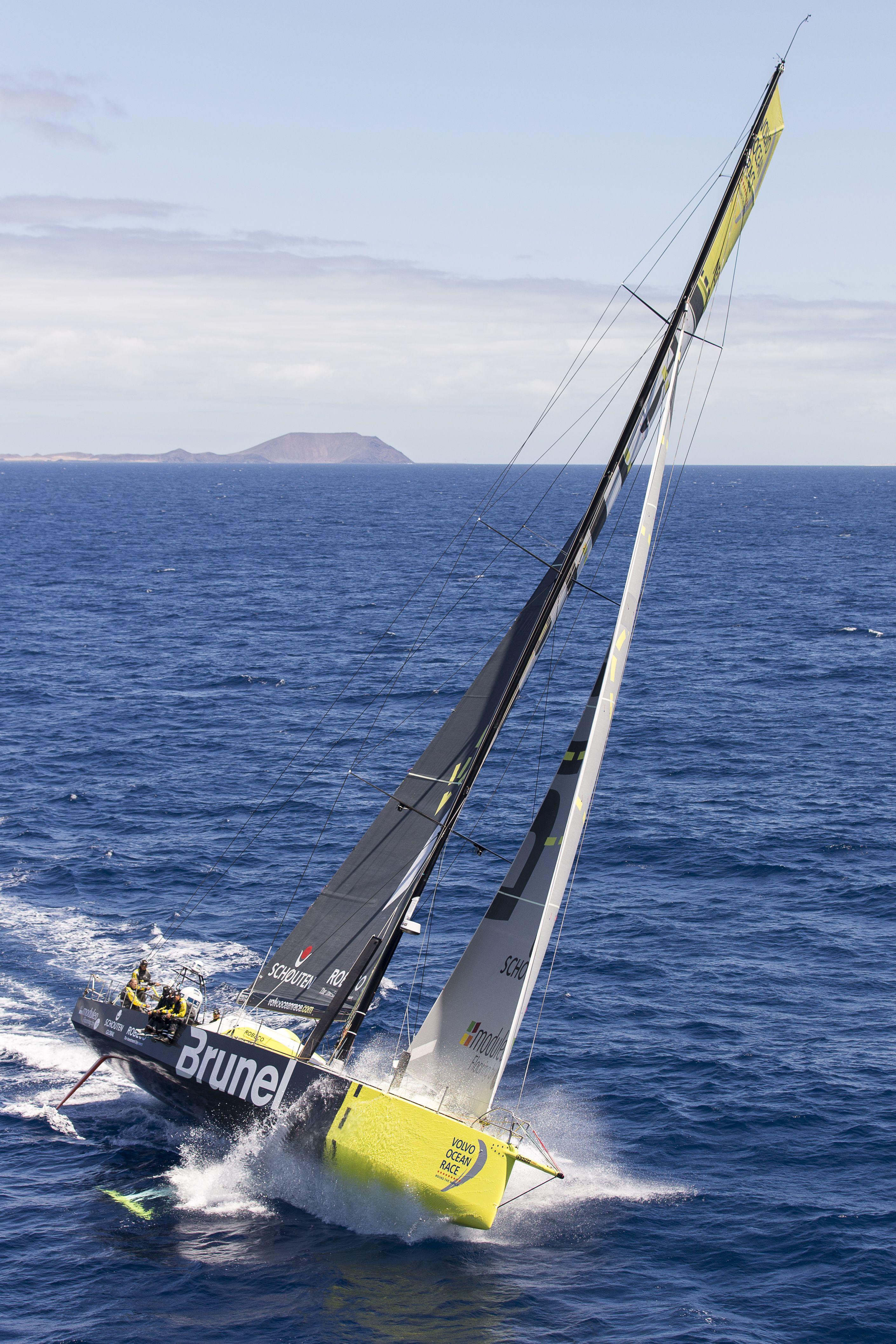 Team Brunel #sailaway #VOR