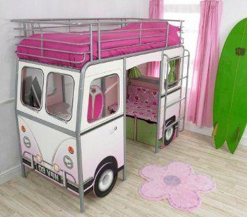 Kinderbett selber bauen mädchen  Worlds Apart 68EGQ01 De Van Bett für Mädchen: Amazon.de: Küche ...
