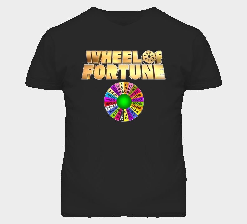 Wheel Of Fortune TV Game Show Classic T Shirt Wheel of