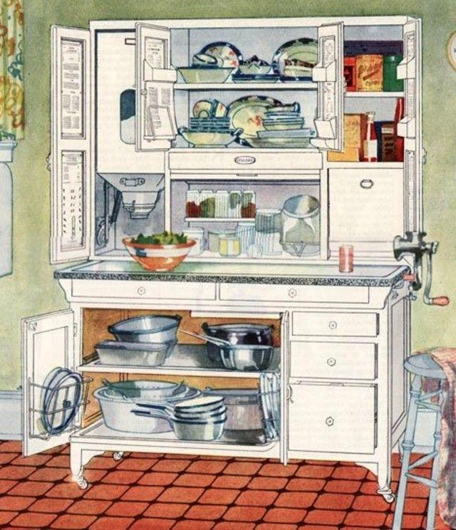 Gardenweb Kitchens: 1920's Cottage--1920's Kitchen With Hoosier?