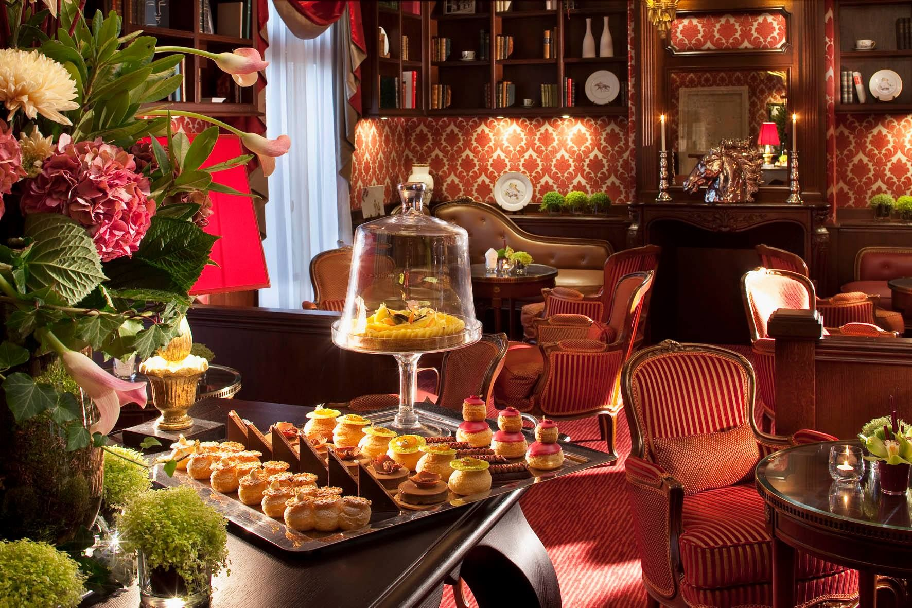 Tea Time de No l au Bar de l Auberge du Jeu de Paume Chantilly