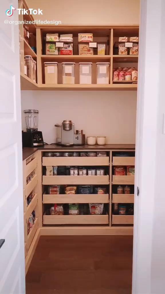 Pantry Design + Organization, like peanut butter a