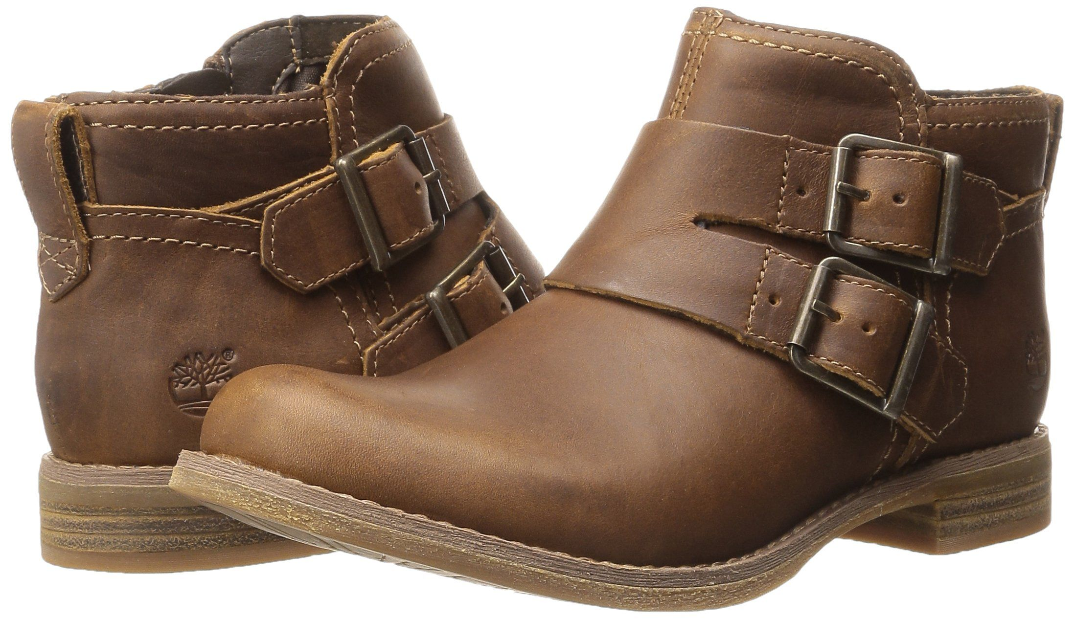 Timberland Earthkeepers Savin Hill Double Buckle Ankle Timberland- Wheat Forty Leather boots