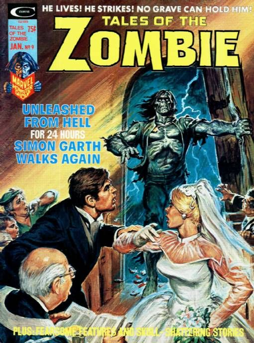 Tales of the Zombie magazine #9