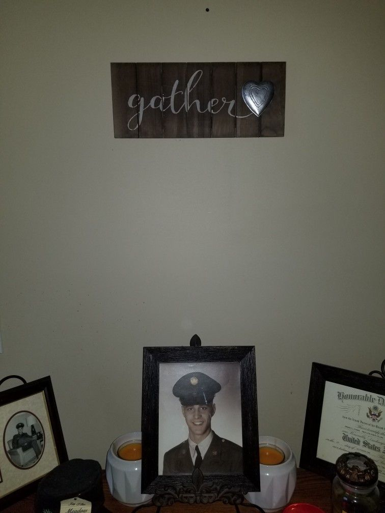 Wish we could gather together again one more time daddy☹. RIP til I see you  again. 9f7a70b31f