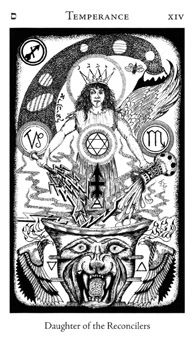 Image result for temperance hermetic tarot