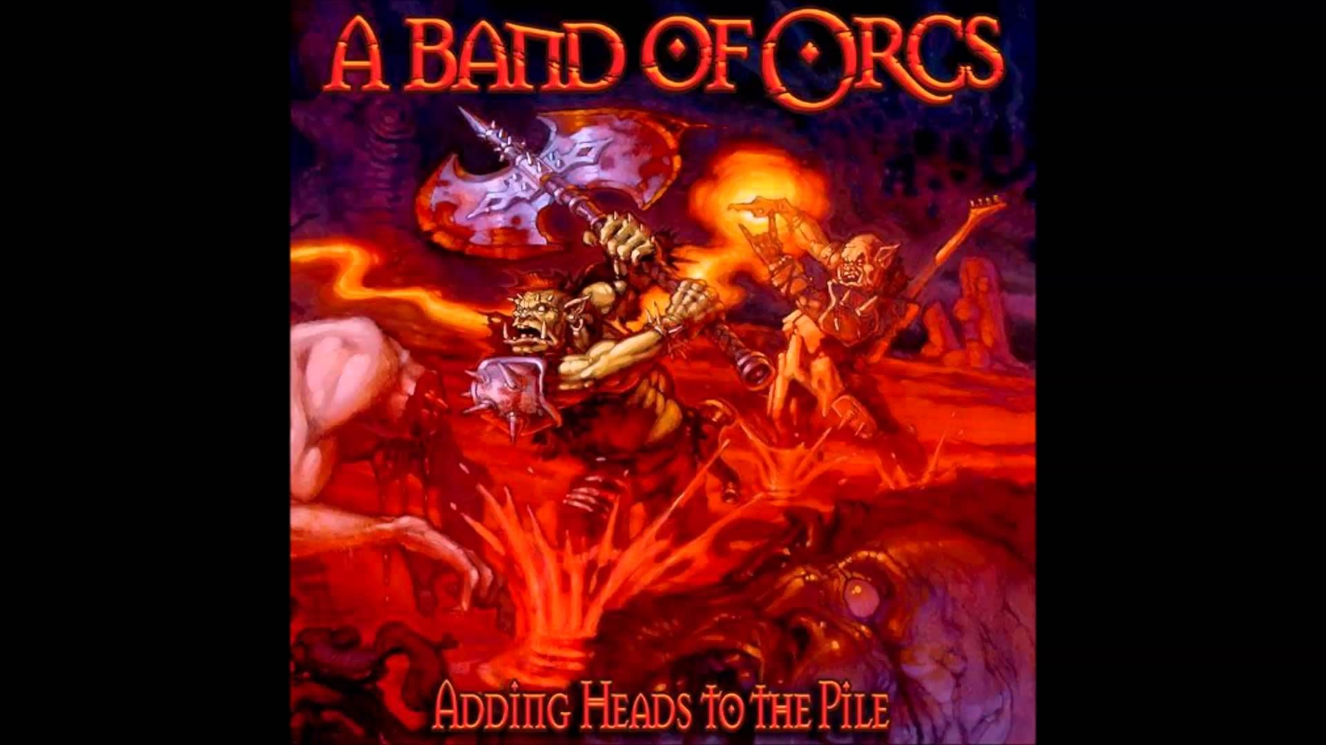 A Band Of Orcs Stormbringer Thrash Metal Metal Albums Death Metal