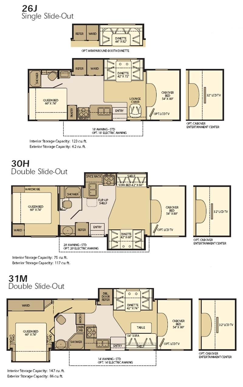 Perfect Fleetwood Class C Rv Floor Plans And Description Rv Floor Plans Fleetwood Rv Floor Plans