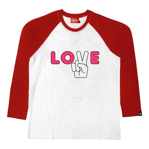 디어 딕테이터스 [Dear Dictators] LO2E_long sleeve RED  롱슬리브 아트웍 셔츠
