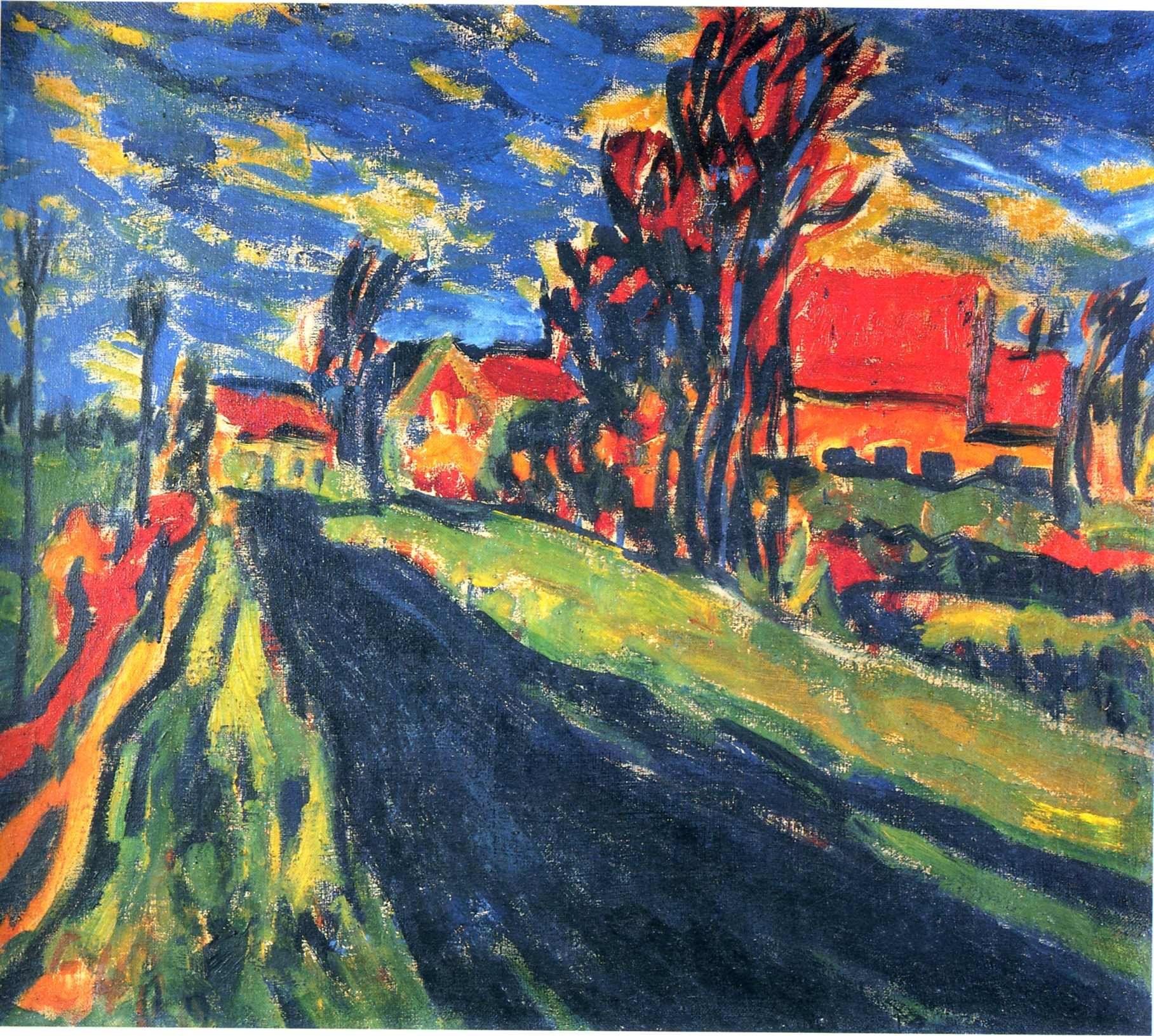 Erich Heckel Paintings