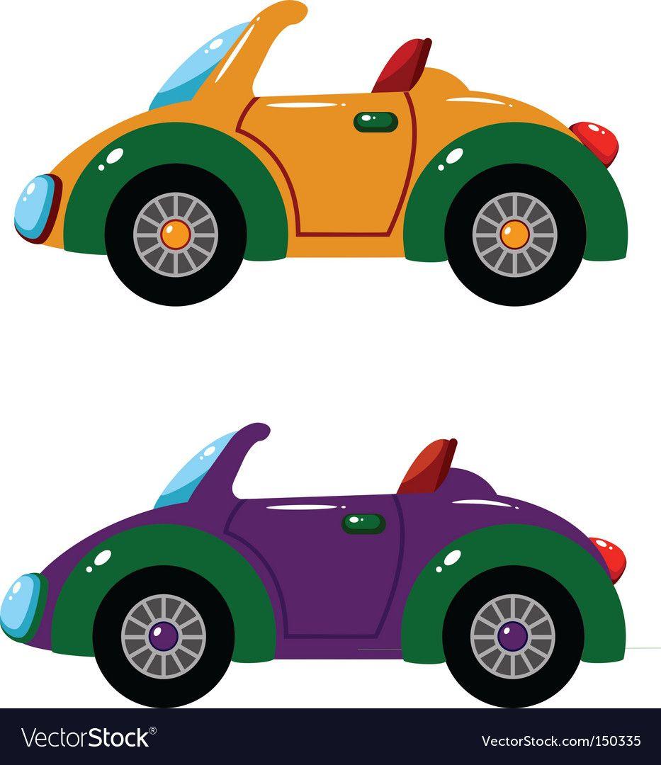 Toy Car Royalty Free Vector Image Vectorstock Toy Car Car Vector Graphic Design Business [ 1080 x 933 Pixel ]