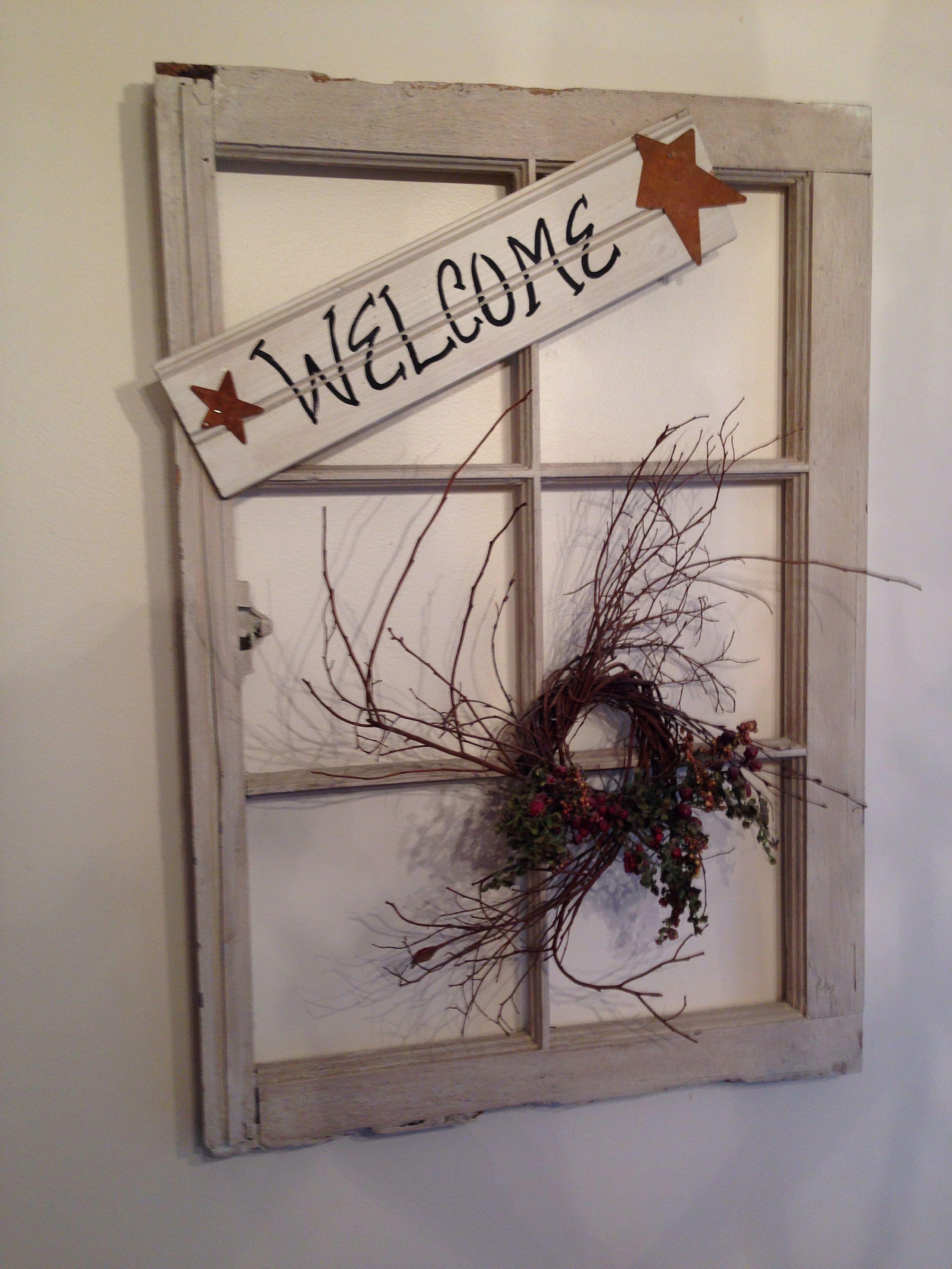 Restored window frame. | Old Windows | Pinterest | Window frames ...