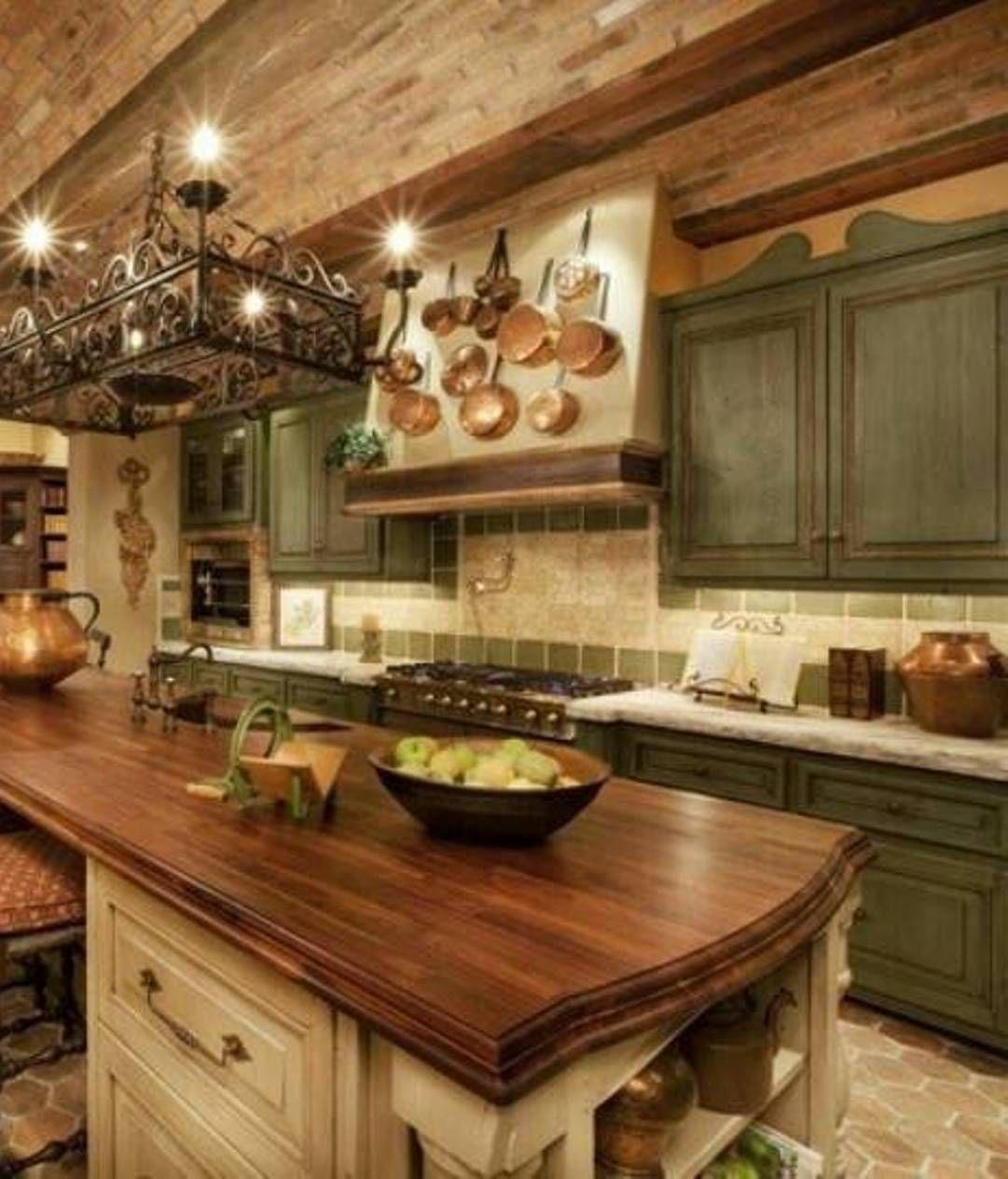 Tuscan Bathroom Decor | Kitchen  Old World Tuscan love ...