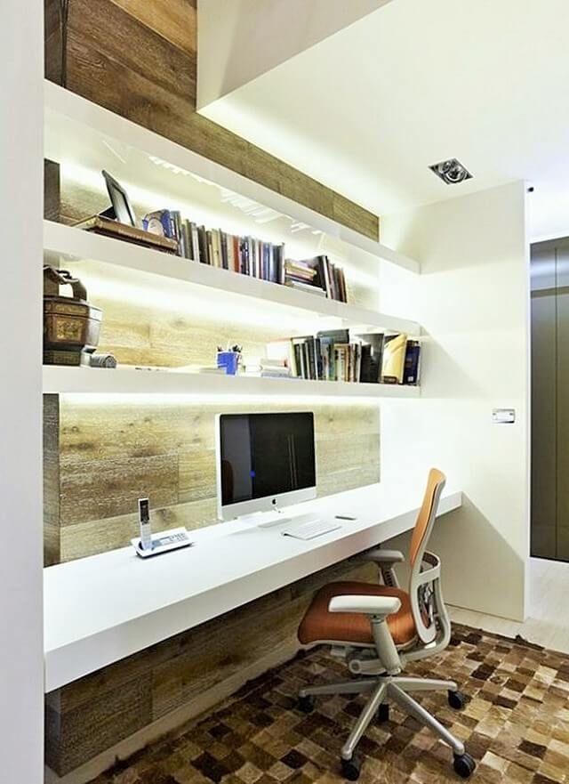 Home Decor With Striking Shelf Lighting Ideas 16 (2)