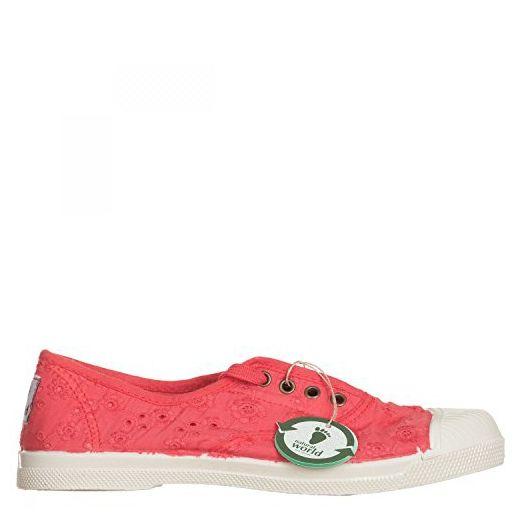 Natural World , Damen Sneaker rot rot 35 EU, rot - rot - Größe: