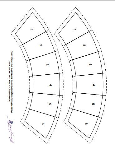 wedding ring quilt pattern free create 40 copies template bows for getting 80 bows if - Wedding Ring Quilt Pattern