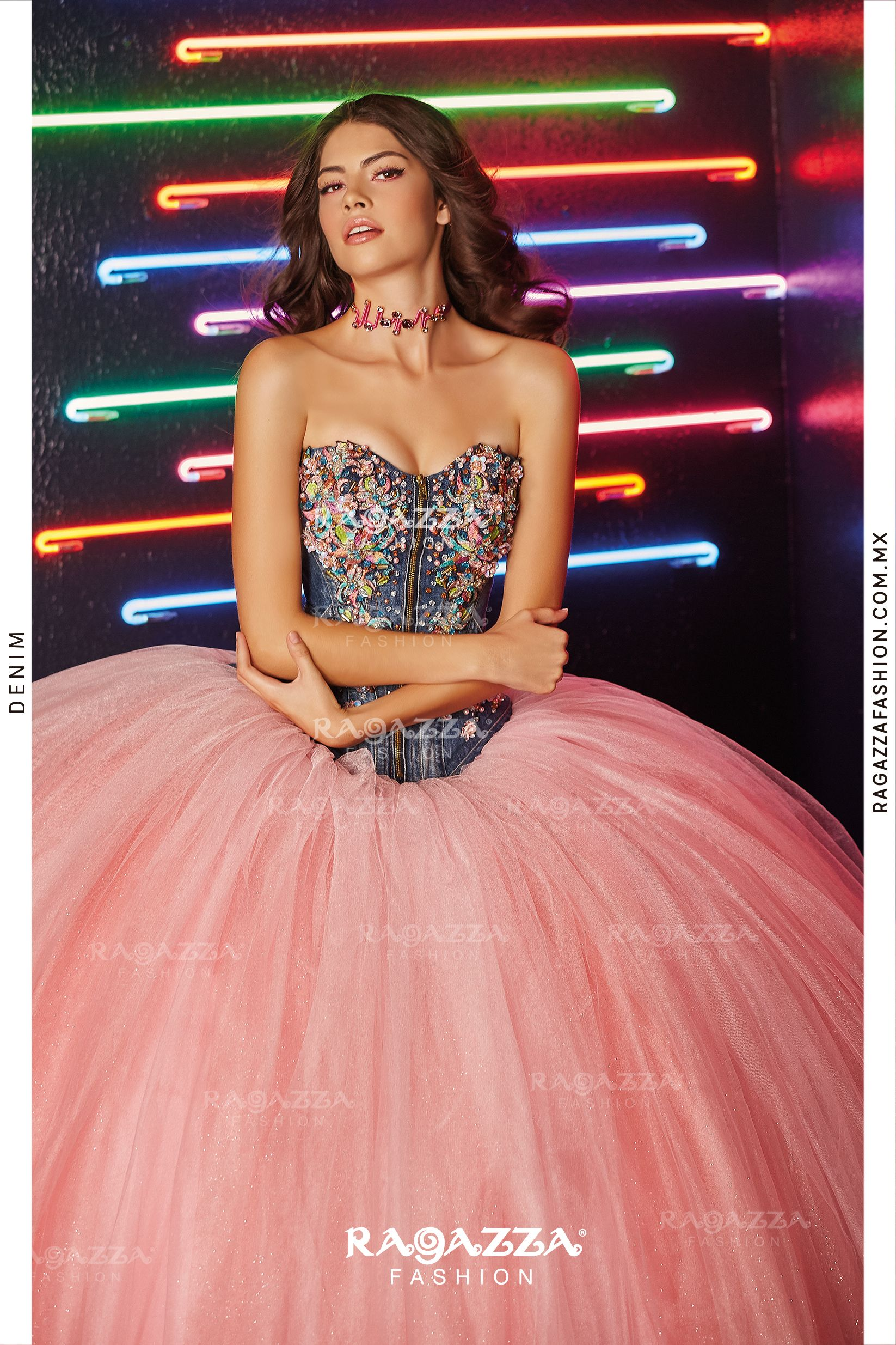Ragazza Denim | Lina\'s 15 ideas | Pinterest | Vestido de quince ...