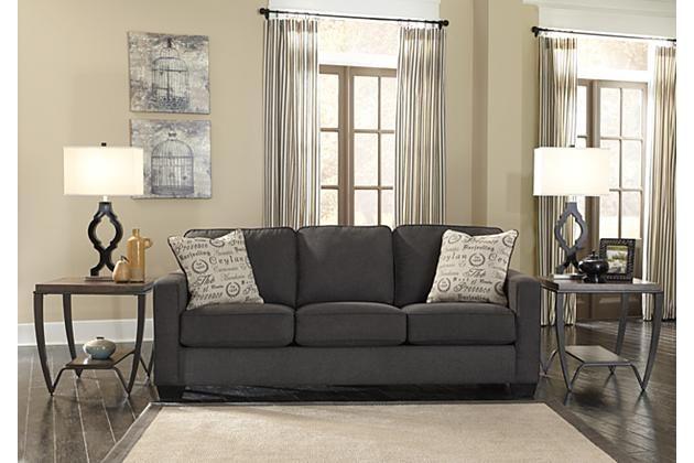 Charcoal Alenya Queen Sofa Sleeper View 1 House Pinterest