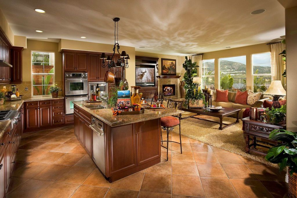 open-concept-kitchen-and-family-room-kitchen-family-room ...